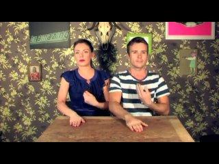 Практически ирландский танец, только танцуют не ноги, а руки :)
