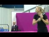 Тренировка Марии и Светланы Кузнецовой в Олимпийском