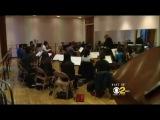 Allison Iraheta Visits Music And Art School CBS LA [04/2011]