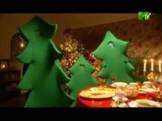 Новогодние заставки рекламы MTV (2008-2009)