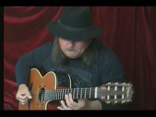 Игорь Пресняков играет Beat It ( Майкл Джексон) на гитаре