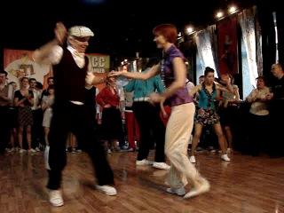 Чемпионат России по танцам в стиле свинг.