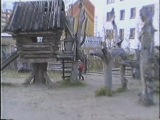 Детский городок на Парковой в Усинске