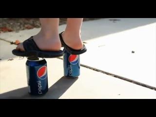 Кока Кола против Пепси. Прикольная вирусная реклама.