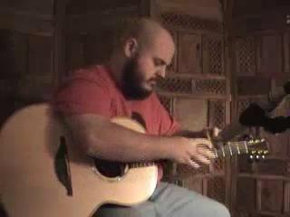 Необычная игра на гитаре Andy McKee (гитарист виртуоз)