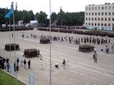 Военная Академия РБ... Плац-парад 2010 год, выпуск молодых лейтенантов....