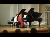 Бизе- Грязнов Хабанера из оперы Кармен для фортепиано (играют дети 8-ми и 9-ти лет в дуэте)