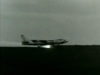 Аварийная посадка самолета Boeing B-47 Stratojet