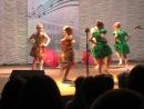 танец с зонтиками в школе искусств