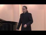 Песня певца за сценой из оперы Аренского