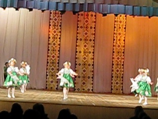 Танец Задорные Веснушки.