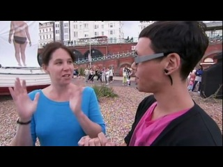 How to Look Good Naked - Gok Shock in Brighton