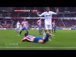 Cristiano ronaldo vs sporting gijon | away | 14|11|2010 | by inferno131      club13649555