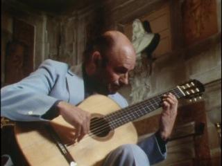 Julian Bream - A Musical Journey through Spain. Фильм о маэстро Дж. Бриме(классическая гитара). 1 часть.