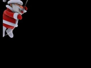 санта клаус(видео-футаж)