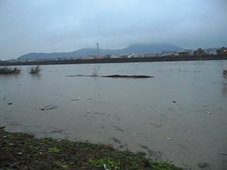 Зимняя вода на речке Латорица в городе Мукачево.08.12.2010.г.