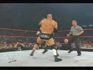 WWE RAW: Goldberg Vs.