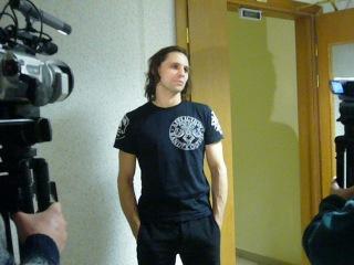 интервью после Чайки в Екатеринбурге