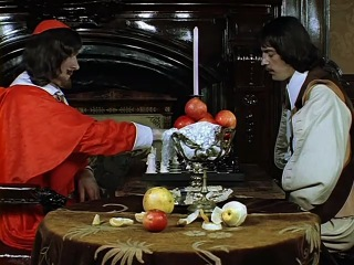 «Три мушкетёра» (1979) Игра в шахматы