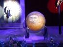 Сценические эффекты для Новогодней Губернаторской елки в Петербурге 2010 г.