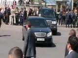 9 мая 2011~Киев=Кортеж В.Януковича,девушки-барабанщицы~2