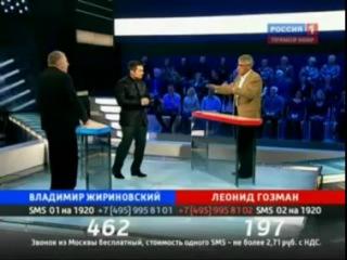 Слова Владимира Жириновского, которые оскорбили Рамзана Кадырова!  Жириновский-Гозман