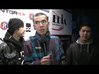 Travoltah & Dars 12.02.11 ONYX (Алматы)