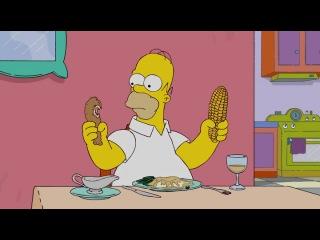 Умственно отсталый Гомер Симпсон 2