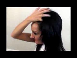 Как придать объем прическе за 5-10 минут без лака и начеса) Секрет шикарных волос)
