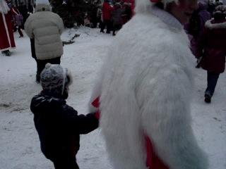 рождество Андрюша 2010 гуляние для детей