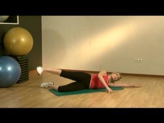 Простые комплексы упражнений для тех,кто хочет заниматься дома (Фитнес для женщин)