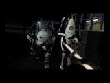 Portal 2, знакомство с роботами HD