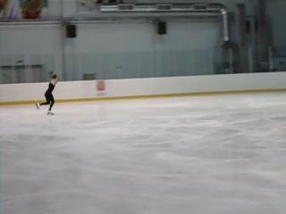 Ксения Макарова. Тренировка 15.04.2011