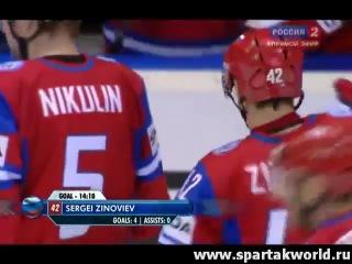 Чемпионат мира по хоккею 2011. Обзор матча: Россия - Дания 4:3