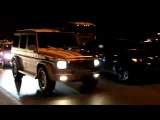 BMW X6 M vs MB G55 AMG