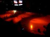 Предматчевое шоу на Arena Riga.