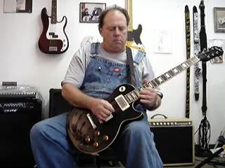 Dennis Dullea Epiphone blues