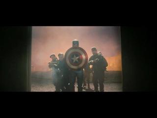 Капитан Америка: Первый Мститель / Captain America-The First Avenger (2011) [Озвучка: Немое кино]