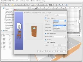 урок Sweet Home 3D 1.2