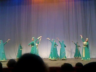 Армянский лирический танец - Государственный ансамбль Осетии