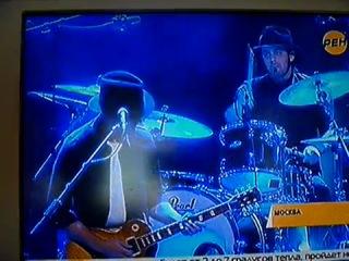 РЕН ТВ о концерте GAROU в Москве 6.11.10