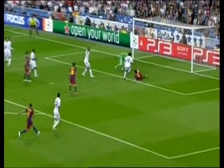 1/2 финала ЛЧ сезон 2010/2011. Реал - Барселона 0 - 2  МЕССИ КРАСАВЧИК ДУБЛЬ!!!