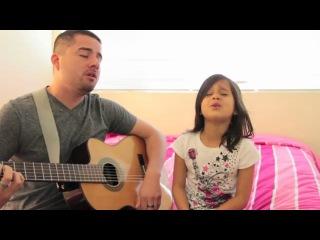 Папа и дочка поют дуэтом № 2