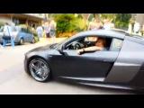 Timati In Monaco на своей  Audi R-8
