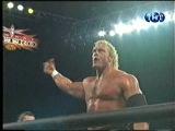 WCW NITRO 01.11.1999: Sid Vicious vs. Scott Hall - Титаны Рестлинга на канале ТНТ / Николай Фоменко