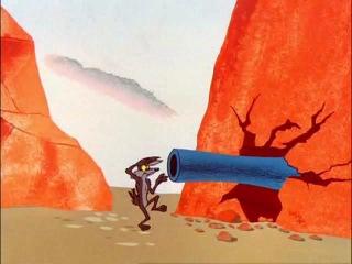 Классические мультфильмы - Гадкий Койот и Дорожный Бегун!