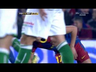 Кубок Испании 2010-2011 / 1/4 финала / Первый матч / Барселона - Бетис / SKY CALCIO HD (2 тайм)