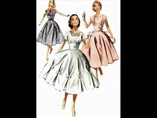 Мода и стиль 50-х годов (Дом моды The 60's www.the60s.ru)