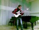 Etude for an electroguitar on Nikolo Paganini