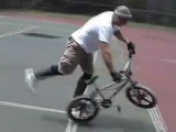 Axlepeg BMX Flatland Freestyle how to flobots handlebars